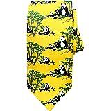 ربطة عنق بتصميم الباندا الصيني المبتكرة، هدية ربطة عنق رائعة للرجال، من ماندالا كرافتس
