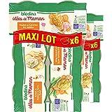 Blédina idées de maman (2 X duo de haricots verts et carottes veau, 2 X écrasé de pommes de terre poulet, 2 X mouliné de caro