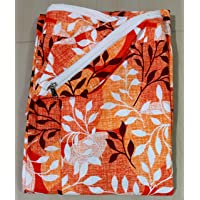 Everwey Enterprise 100% Box Cotton Mattress Zipperd Cover / Protecor - Size ( Single Bed) ( 3 feet x 6 feet / 36 inch x…