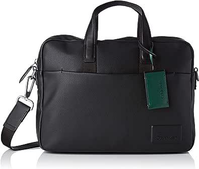 Calvin Klein Jeans Herren Task Force 1 Gusset Laptop Bag Laptop Tasche Schwarz (Black)