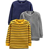 Simple Joys by Carter's 3-Pack Thermal Long Sleeve Shirts Bebé-Niños
