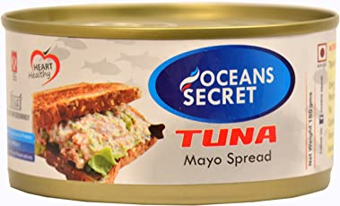 Oceans Secret Canned Tuna in Mayonnaise, 180g