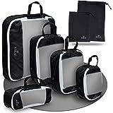 MAILAS 7-Teiliges Packing Cube Set – Kleidertaschen in 7 Größen – Wasserfest & leicht – Komprimierbare Koffer Organizer – Kle