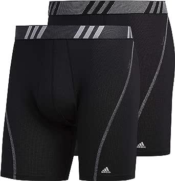 adidas Performance Mesh Boxer Briefs Underwear (2-Pack) Intimo Uomo