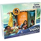 CORINE DE FARME Coffret Eau de Toilette + Shampoing + Set 2 Barrettes/Bracelet + Marque-Pages Vaiana