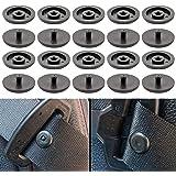 """Bottoni Cintura di Sicurezza Auto, Set di 10, Bottone Pressione, Compatibile con Cinture Spessore 1,2 mm/0,47"""", Evita lo Sciv"""