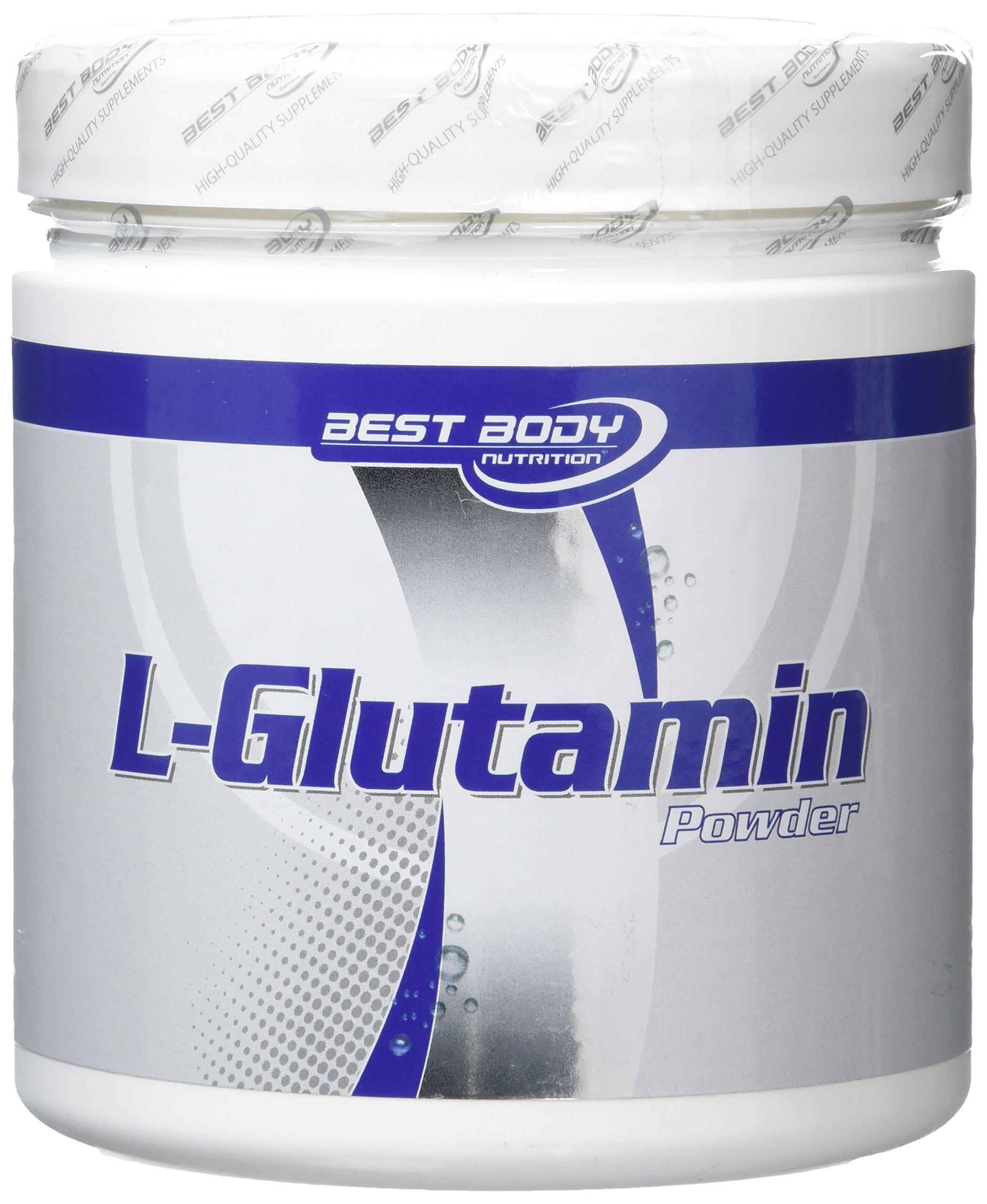 91lvWbbcPlL - Best Body Nutrition Amino Acids L-Glutamine Powder - 250g, 250g