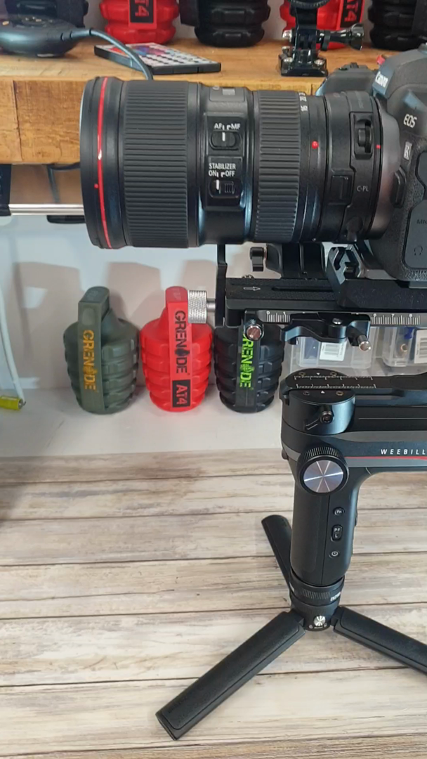 ZHIYUN WEEBILL-S [Oficial] Gimbal Estabilizador para cámaras DSLR ...