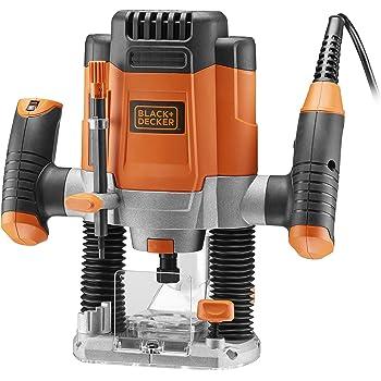 Black & Decker KW1200E-QS Défonceuse électronique 1200 W