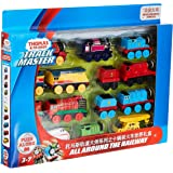 Thomas & Friends 10-Pack of Trackmaster Push Along Die-Cast Metal Train Engines