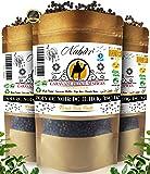 Poivre Noir de Madagascar 205 Gr ⭐ NABÜR ⭐ Fumé, Riche, Parfums Puissants ⭐ Cueillis à La Main ❤️ Sachet Refermable (205…