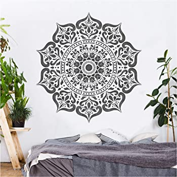 GSS Designs Mandala Elephant Stencil 12x16 Inch SL-021 for