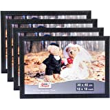 AJANTA ROYAL Big Photo Frames 12 x 18 Inch : A-185 (4 Qty, Black)