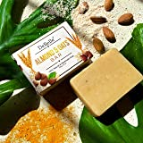 DeBelle Almond and Oats Natural & Handmade Soap Bar, 100 gm