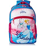 Priority Disney Princess Cinderella Kindness 32 litres Blue - Pink Polyester Kid's School Bag   Casual Backpack for Girls (25