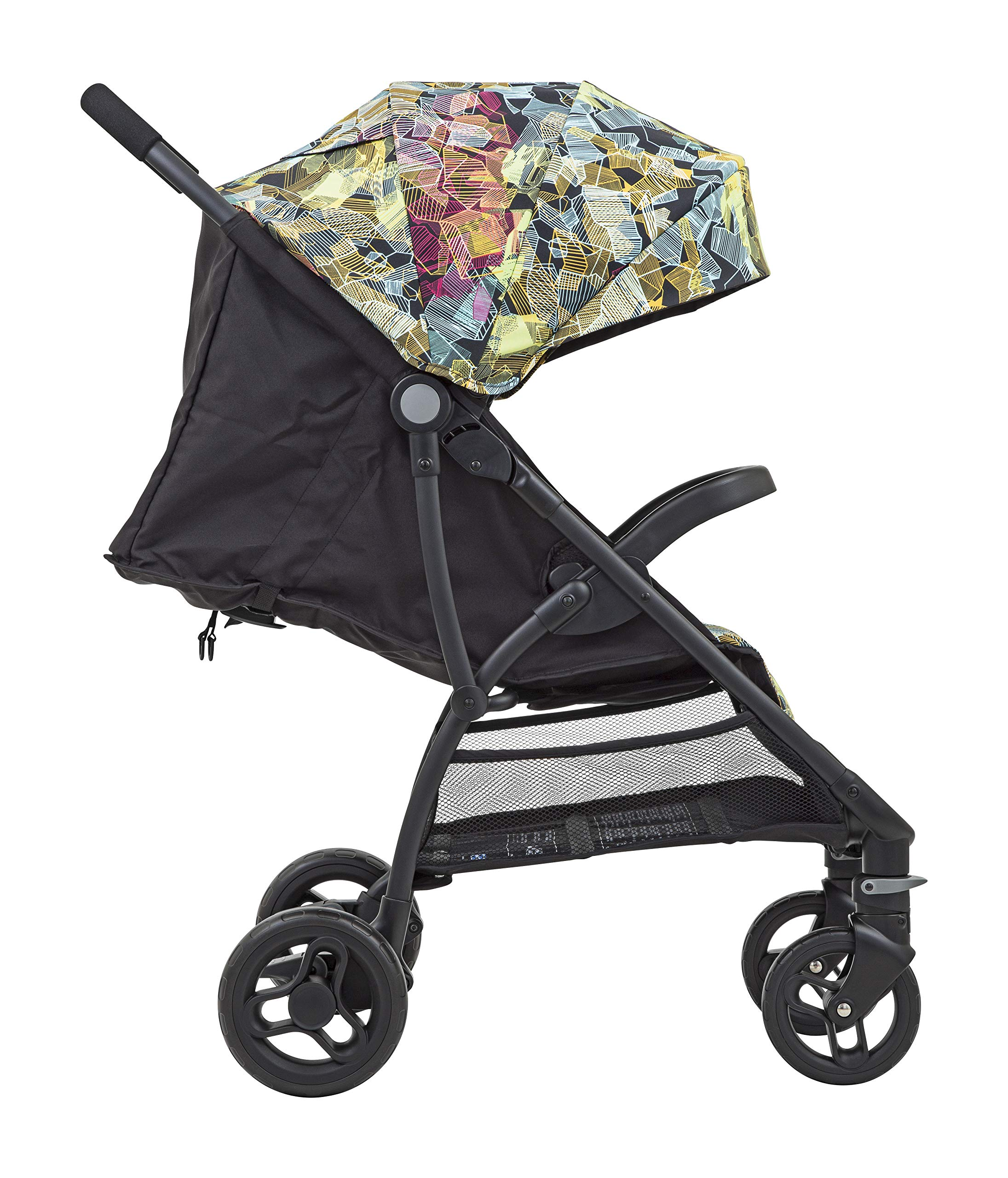 Graco Breaze Lite Stroller, Kaleidoscope Graco From birth to 3 years approx. (0-15kg) Lightweight at only 6.5kg Click connect travel system compatible with graco snugride/snugessentials isize infant car seats 3