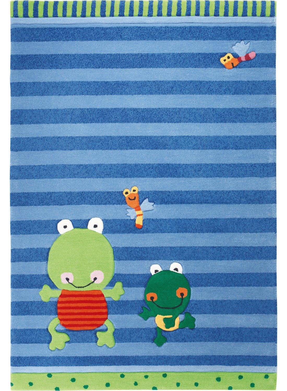 Kinderteppich sigikid  Sigikid Kinderteppich Susi Sumpfhose | blau | 120 x 180 cm: Amazon ...