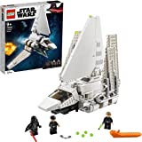 LEGO 75302 StarWars LaNavetteimpériale Jeu de Construction Minifigurines de Luke Skywalker avec Son Sabre Laser et Dark Va