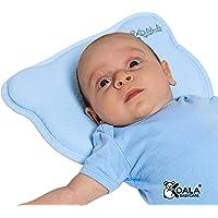 Koala Babycare Cuscino baby (con due Federe) in Memory Foam Antisoffoco - Blu