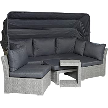 "Amazon.de: Garden Impressions Lounge Set, ""KUBA"" Poly"
