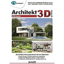 Architekt 3D X9 Ultimate - Der professionelle 3D-Planer für Haus, Wohnung, Garten und Inneneinrichtung! Windows 10, 8, 7, XP, Vista (32-/64-bit) [Download]