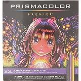 Prismacolor Premier Colored Pencils, Manga Colors, 23 Pack