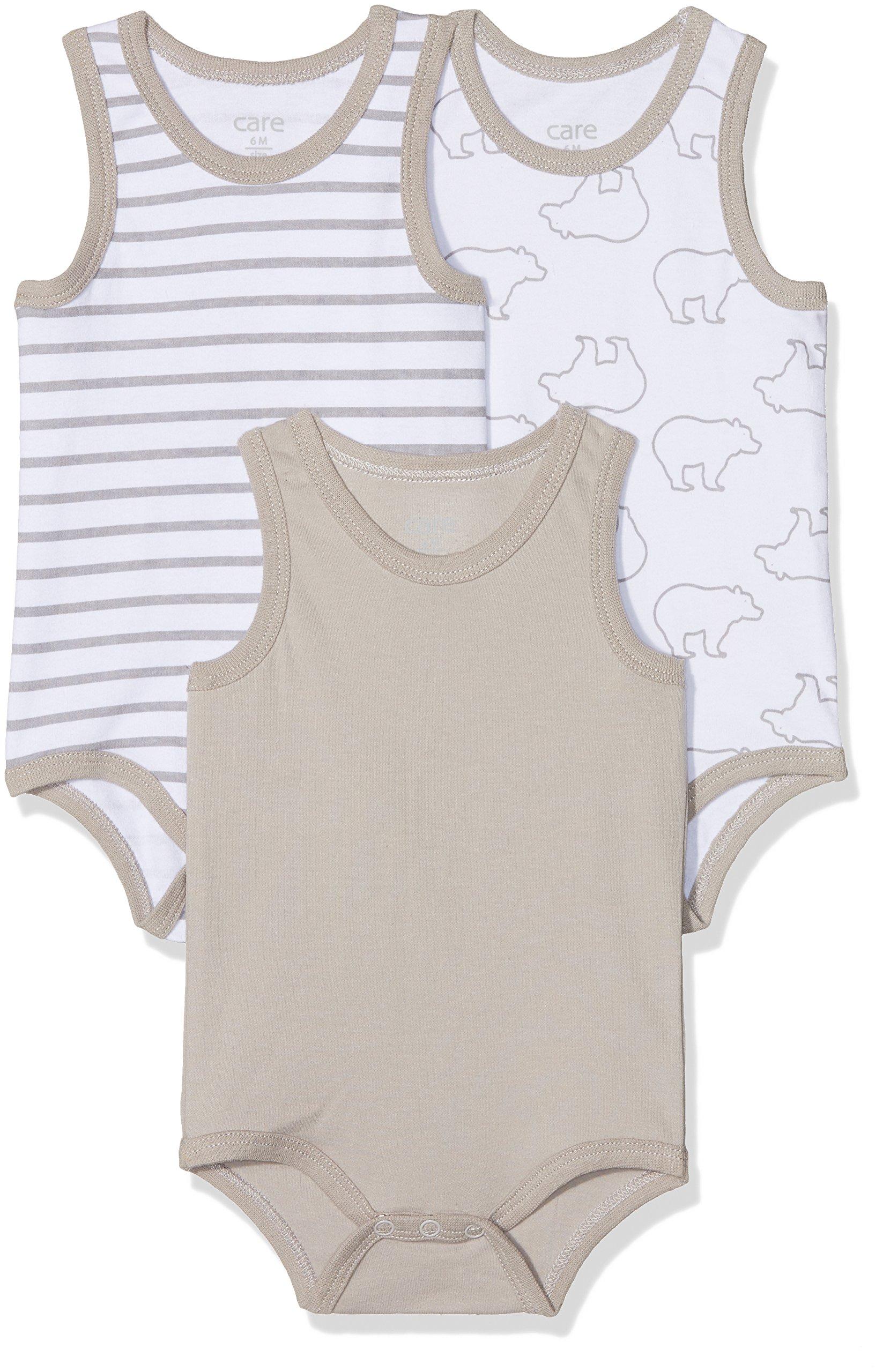 Amazon Exclusiva: Care Body (Pack de 3 Bebé Unisex