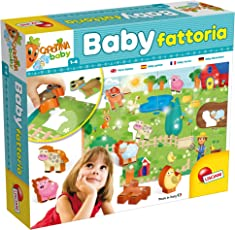 Lisciani Giochi 58464 Gioco Carotina Baby, Fattoria