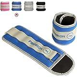 PROIRON gewicht manchetten voet/pols gewichten fitness set 0.5 kg,1kg,1.5kg,2kg,1 paar voor benen en armen enkels gewicht voo