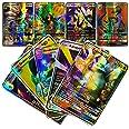 100 Cartes Collector de la Nouvelles Version Française,Amusant Flash Card,GX Tag Team Cartes,Jeu de Cartes de Puzzle,Une Séle
