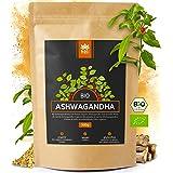 Holi Natural® Premium BIO Ashwagandha Root Powder - 500g - REAL Indian Withania Somnifera de cultivo orgánico certificado - e