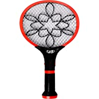 HNESS Rechargeable Mosquito Racket Bat with Detachable Double Torch,Kill Mosquito or Winged Insect with LED Lighting…