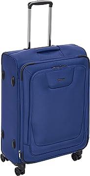 AmazonBasics - Premium-Weichschalen-Trolley mit TSA-Schloss, erweiterbar, 64 cm, Blau