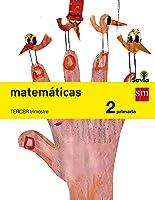 Matemáticas. 2 Primaria. Savia - Pack de 3 libros - 9788467575071