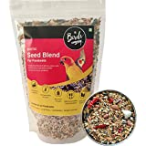 The Birds Company Exotic Seed Blend of 16 Grains & Exotic Nuts, Fortified with Spirulina & Cuttlefish Bone, Bird Food for Par