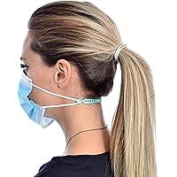 KOKSS Attache Masque - Confortable et Ajustable en Silicone - 4 Extensions de Sangle de Masque Facial antidérapant…