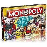 Monopoly Dragon Ball Super – bordspel voor onroerend goed, versie in het Spaans