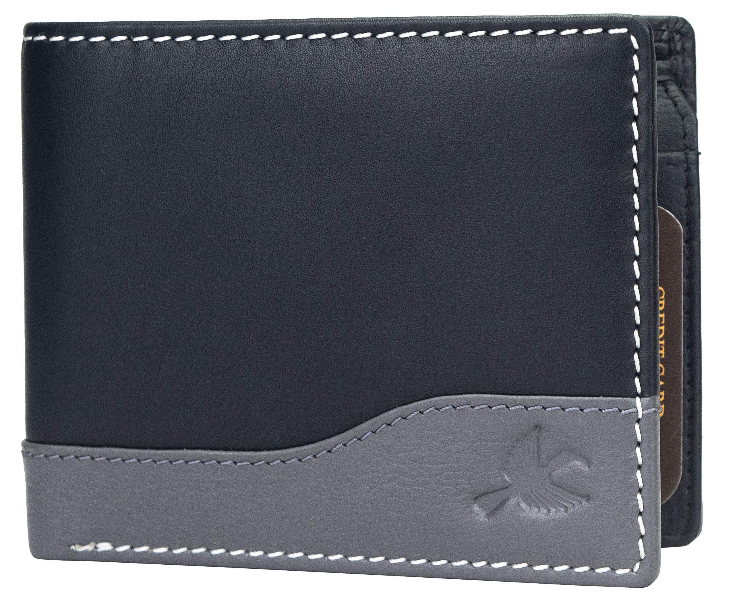 Hornbull Buttler Men's Genuine Leather RFID Blocking Wallet
