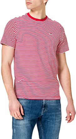 Tommy Jeans Men's TJM Tommy Classics Stripe Tee T-Shirt