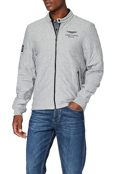 Hackett London Herren Sweatshirt Aston Martin Racing Poly Filled Grau Pearl Grey 901 X Large Herstellergröße Xl Amazon De Bekleidung