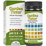 Garden Tutor Soil pH Test Strips Kit (3.5-9 Range) 100 Tests