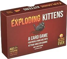 Exploding Kittens: Un Juego de Cartas - En Inglés