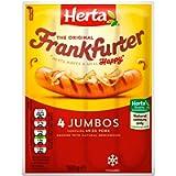 Herta Jumbo Frankfurters Hot Dogs, 360 g