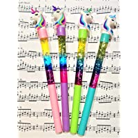 GoMerryKids Glitter Unicorn Beautiful Gel Pen Set for Kids -12 Pieces