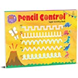 Pencil Control Super Activity Book: Activity Book for Children