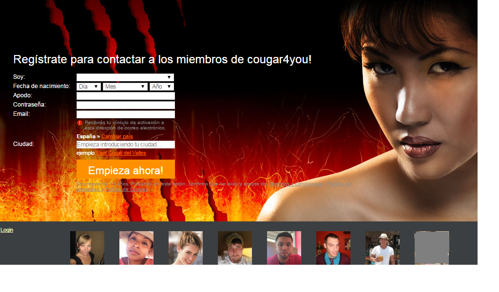 Cougar incontri online