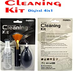 RiaTech® 4 in1 Cleaning kit Specially Made for Digital Cameras, Lenses & Binoculars