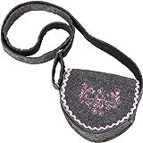 Ramona Lippert Trachtentasche, Filz (grau) - Dirndl-Tasche Anni zum umhängen