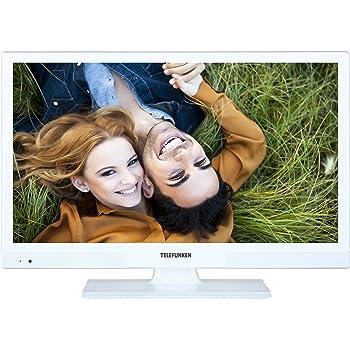 Telefunken XH20A101-W 51 cm (20 Zoll) Fernseher (HD Ready, Triple Tuner) weiß