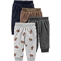 Simple Joys by Carter's Unisex Baby 4-Pack Fleece Pants